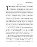 Tiểu luận Triết học số 47 - CNH-HĐH và vai trò của nó trong sự nghiệp xây dựng chủ nghĩa xã hội ở nước ta