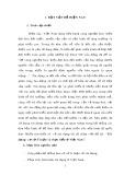 Tiểu luận Triết học số 19 - Tín dụng: Cơ sở lí luận và thực tiễn ở Việt Nam