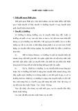 Tiểu luận Triết học số 29 - Triết học Phật giáo