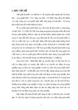 Tiểu luận Triết học số 69 - Vai trò của tri thức khoa học công nghệ đối với việc phát triển kinh tế ở Việt Nam hiện nay
