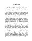 Tiểu luận Triết học số 1 - Bản sắc dân tộc trong nền kinh tế mở