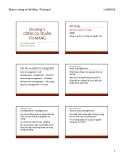 Bài giảng Quản trị mạng và hệ thống: Chương 5 - ThS. Trần Thị Dung