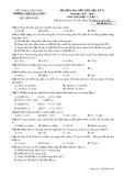Đề kiểm tra 1 tiết HK 2 môn Hóa học lớp 12 năm 2017-2018 - THPT Gia Nghĩa - Mã đề 123