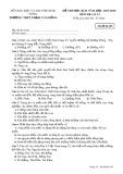 Đề thi HK 2 môn Địa lí lớp 12 năm 2018 - THPT Phạm Văn Đồng - Mã đề 485