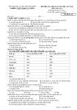 Đề thi HK 2 môn Địa lí lớp 10 năm 2018 - THPT Phạm Văn Đồng - Mã đề 132