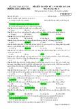 Đề thi HK 2 môn Hóa học lớp 12 năm 2017-2018 - THPT Lương Phú - Mã đề 124