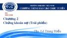 Bài giảng Quản trị tài chính: Chương 2.2 - ThS.LêTrungHiếu