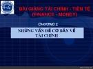 Bài giảng Tài chính tiền tệ: Chương 1 - ĐH Trà Vinh