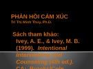 Bài giảng Phản hồi cảm xúc - Trì Thị Minh Thúy