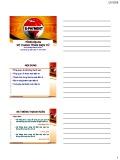 Bài giảng Thanh toán điện tử: Chương 1 - ĐH Ngân hàng