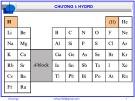 Bài giảng Hóa vô cơ A: Chương 1 - Nguyễn Văn Hòa