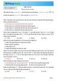 Luyện đề THPT Quốc gia môn Vật lý năm 2015 - Đề 5