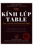 Ebook Kính lúp table (Tập 1): Đánh giá hàm đơn điệu
