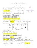 300 câu hỏi trắc nghiệm môn Toán 12