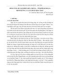 Tiềm năng du lịch biển Hòa Thắng - tỉnh Bình Thuận Định hướng và giải pháp khai thác
