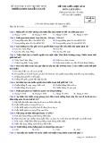 Đề thi giữa HK 2 môn Lịch sử lớp 11 - THPT Nguyễn Văn Cừ - Mã đề 007