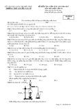 Đề kiểm tra giữa HK 2 môn Hóa học lớp 10 năm 2016-2017 - THPT Nguyễn Văn Cừ - Mã đề 001