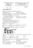 Đề thi HK 2 môn Hóa học lớp 10 năm 2018 - Sở GD&ĐT Quảng Nam - Mã đề 305