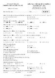 Đề kiểm tra 1 tiết Đại số lớp 10 chương 1 năm 2017-2018 - THPT Nguyễn Văn Cừ - Mã đề 767