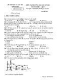 Đề thi HK 2 môn Hóa học lớp 10 năm 2018 - Sở GD&ĐT Quảng Nam - Mã đề 301