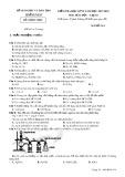 Đề thi HK 2 môn Hóa học lớp 10 năm 2018 - Sở GD&ĐT Quảng Nam - Mã đề 314