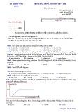 Đề KSCL lần 1 môn Hóa học lớp 12 năm 2017-2018 - Sở GD&ĐT Vĩnh Phúc - Mã đề 611