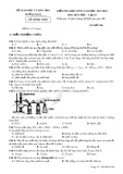 Đề thi HK 2 môn Hóa học lớp 10 năm 2018 - Sở GD&ĐT Quảng Nam - Mã đề 306