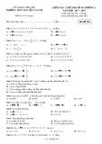 Đề kiểm tra 1 tiết Đại số lớp 10 chương 1 năm 2017-2018 - THPT Nguyễn Văn Cừ - Mã đề 764