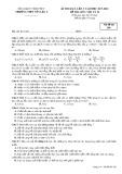 Đề KSCL lần 3 môn Vật lí lớp 10 năm 2017-2018 - THPT Yên Lạc 2 - Mã đề 209