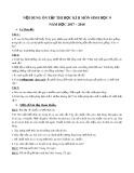 Đề cương ôn tập HK 2 môn Sinh lớp 9 năm 2017-2018