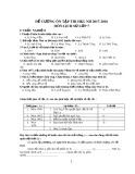 Đề cương ôn tập HK 1 môn Lịch sử lớp 7 năm 2017-2018