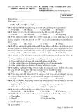 Đề thi HK 2 môn Vật lí lớp 10 năm 2014-2015 - THPT Hùng Vương - Mã đề 485