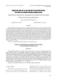 Nghiên cứu phân lập và xác định một số đặc điểm sinh học của virus ped (Porcine epidemic diarrhea virus)