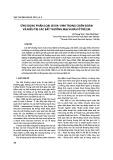 Ứng dụng phân loại Issva - 1996 trong chẩn đoán và điều trị các bất thường mạch máu ở trẻ em