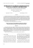 Ảnh hưởng của hóa chất và các phương pháp tác động đến hiệu quâ sinh sân của vọp geloina sp. có nguồn gốc từ U Minh Thượng, Kiên Giang
