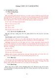 Bảng giảng Chăn nuôi heo: Chương 3 - Thức ăn và dinh dưỡng