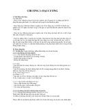 Bài giảng Dược lý thú y: Chương 1 - Đại cương