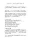 Bài giảng Dược lý thú y: Chương 3 - Thuốc kháng khuẩn