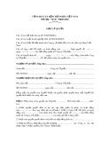 Mẫu giấy ủy quyền của giám đốc công ty cổ phần