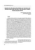 Nghiên cứu liên quan giữa mô bệnh học theo WHO 2001 với một số đặc điểm lâm sàng, cận lâm sàng U lympho không Hodgkin trẻ em