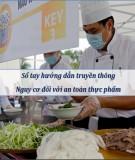 sổ tay hướng dẫn truyền thông nguy cơ đối với an toàn thực phẩm: phần 2