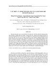 Cấu trúc và tính chất quang của nano tinh thể bán dẫn ZnxCd1-xS