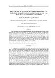 Điều chế TiO2 từ quặng ilmenit Bình Định bằng tác nhân phân giải quặng KOH nhằm ứng dụng xúc tác phân hủy các chất hữu cơ ô nhiễm