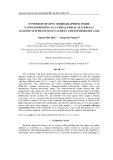 Synthesis of zinc oxide graphene oxide nanocomposites as antibacterial materials against staphylococcus aureus and escherichia coli