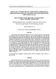 Phân lập và đánh giá đặc tính chủng aspergillus brunneoviolaceus fec 156 sinh tổng hợp hệ enzyme thủy phân xylan