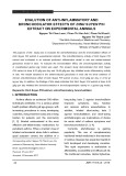 Evalution of anti-inflammatory and bronchodilator effects of Dinh Suyen P/H extract on experimental animals