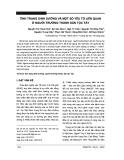 Tình trạng dinh dưỡng và một số yếu tố liên quan ở người trưởng thành dân tộc Tày