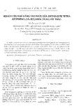 Nghiên cứu khả năng tạo phức của ortho-este tetra azophenylcalix[4]aren (TEAC) với Th(IV)