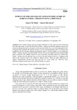 Effect of the change of climate indicators on agricultural yields in Son La province