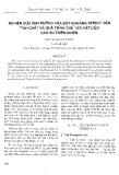 Nghiên cứu ảnh hưởng của bột khoáng sericit đến tính chất và quá trình tạo vật liệu cao su thiên nhiên